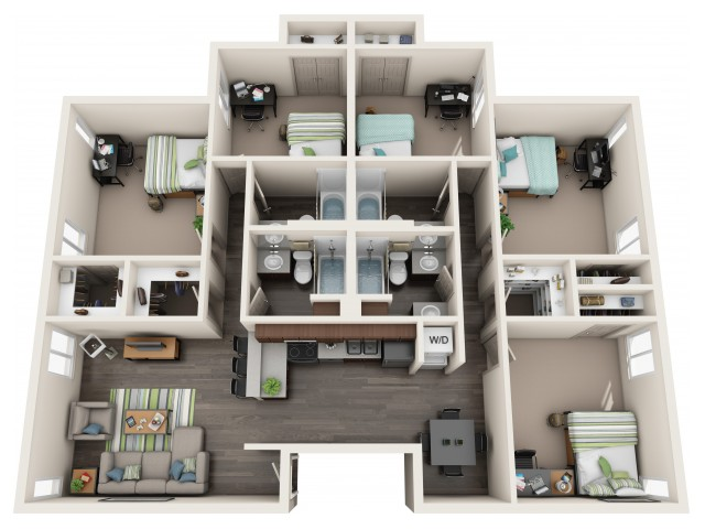 Charmant All|Floor Plans5 Bedroom 4 Bath   Newly.