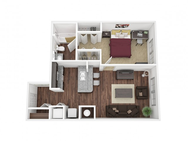One Bedroom / One Bathroom