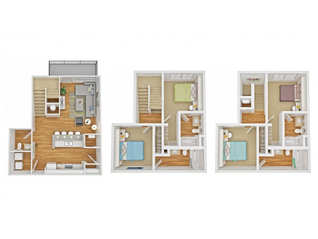 4/4 - Townhome A