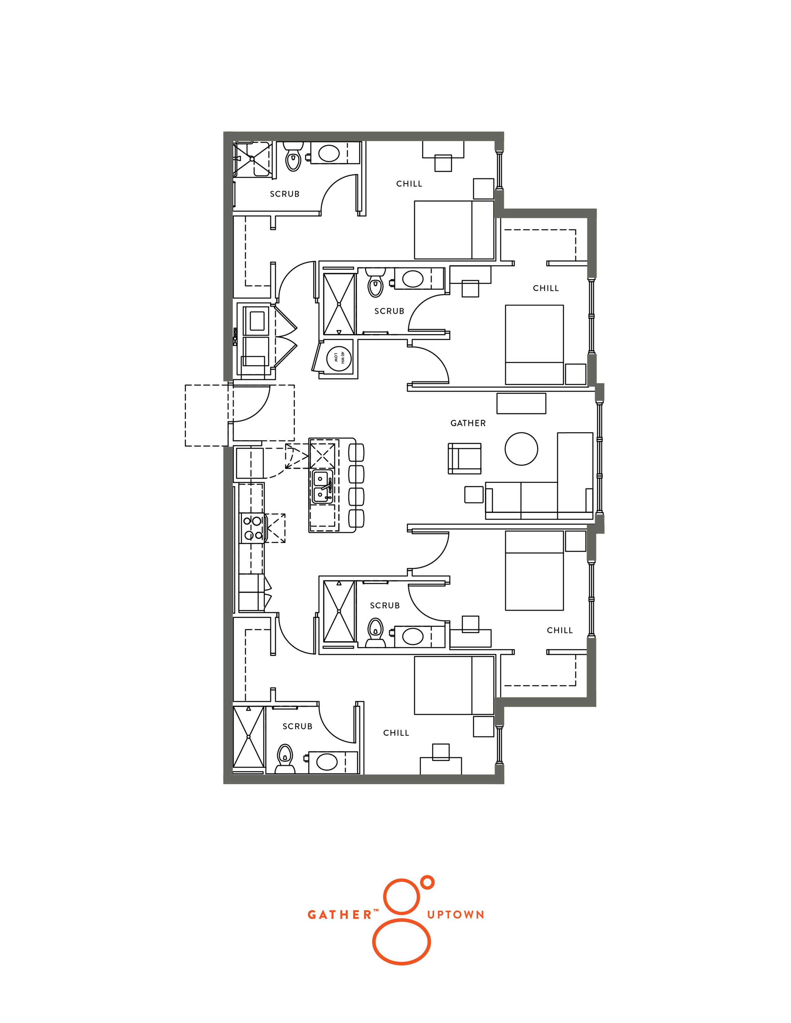 D1 - 5th Floor Unit