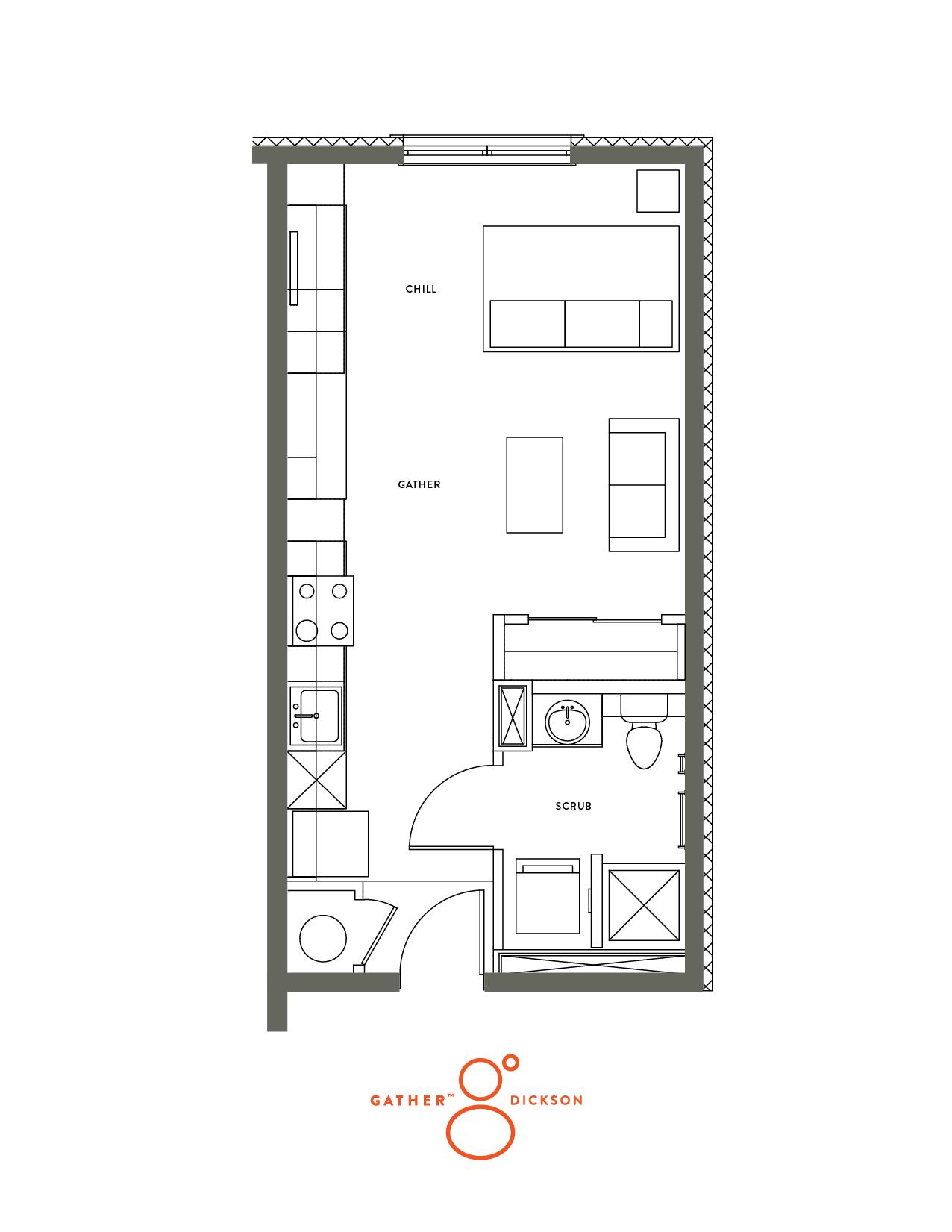 Studio- Balcony