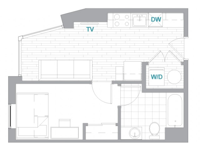 1x1 Terrace