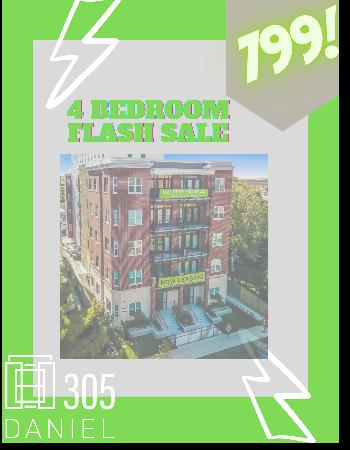 4 bedroom flash sale. $799!