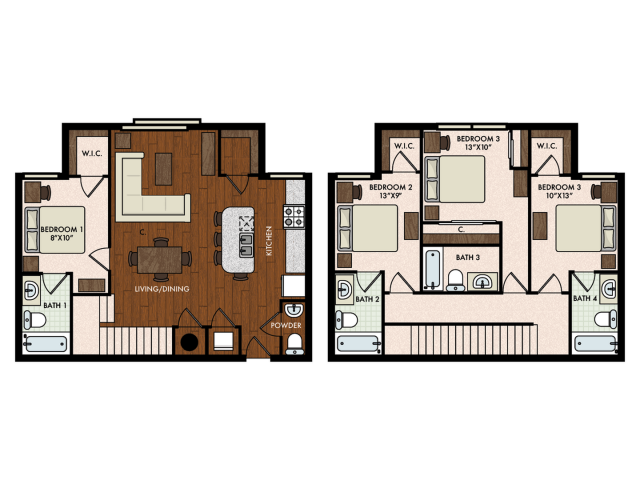 4BR/4.5BA - Townhome