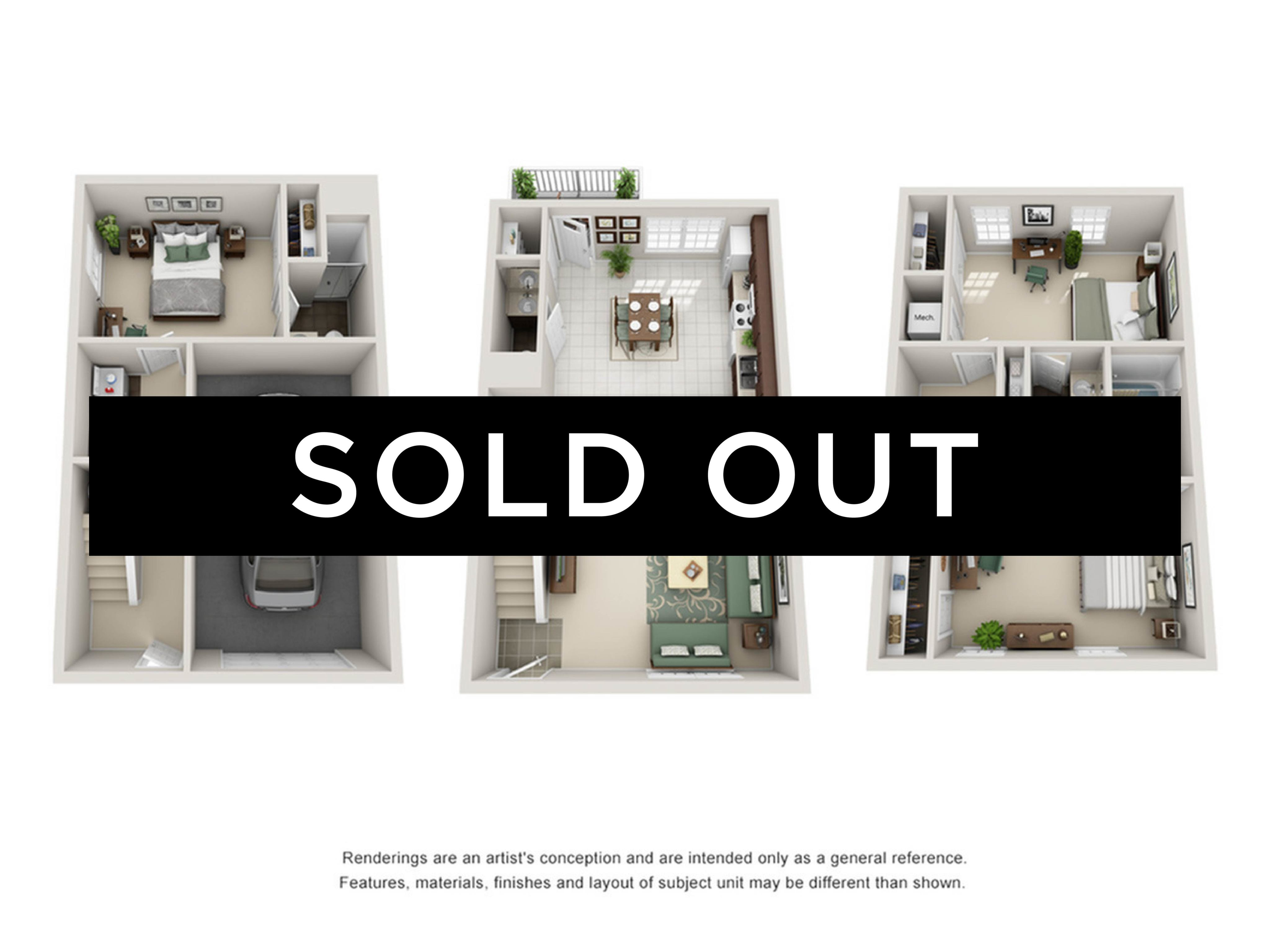 3BR/3.5BA - Upgrade - sold out