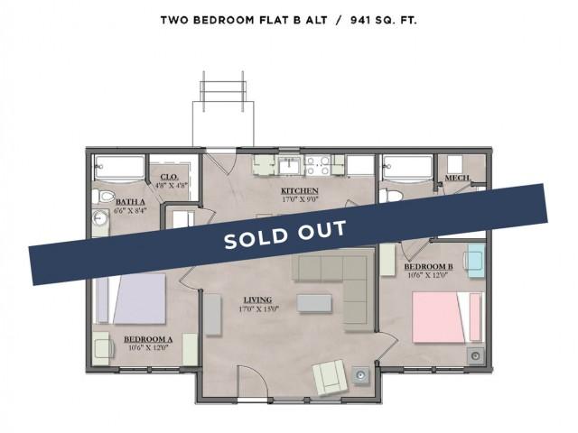 Floor plan layout