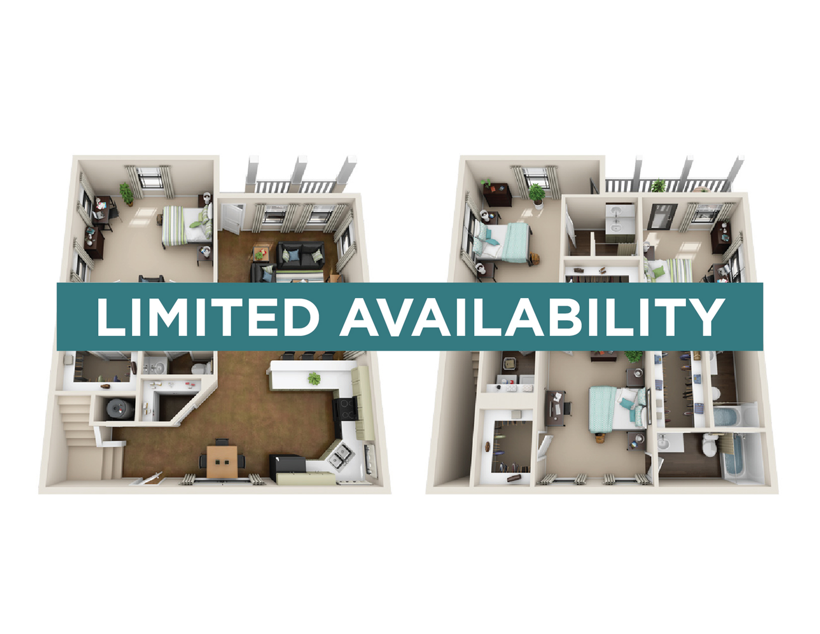 4BR/4.5BA - Furnished - limited availability