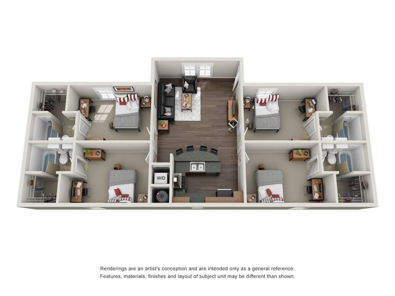 4 Bed Lodge
