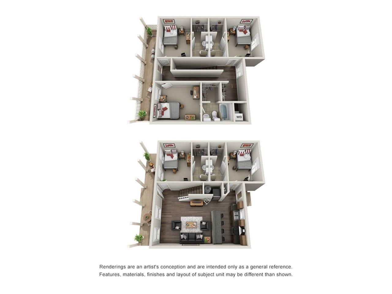 5x5 Cottage Furnished