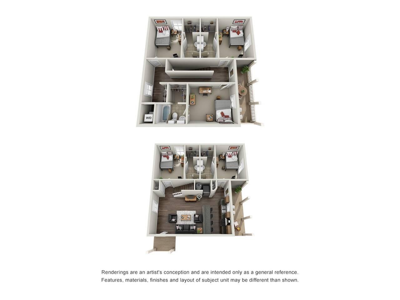 5 x5 manor floor plan