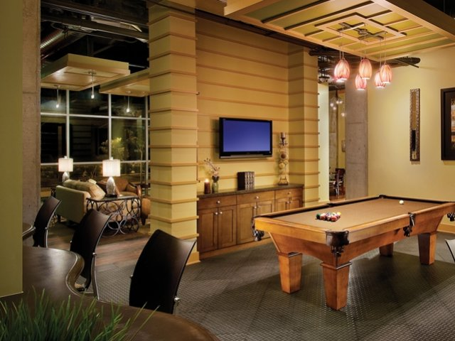 Image of Billiards room for Skyline Lofts Apartment Homes