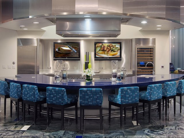 Image of Demonstration kitchen for Aspire Pinnacle Peak Apartment Homes