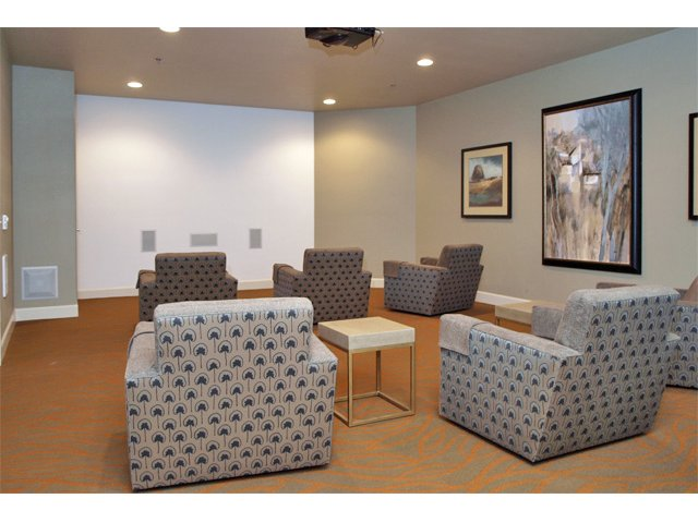 Image of Theater Room for A'Cappella Apartment Homes