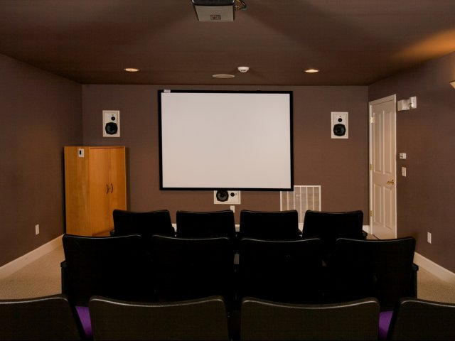 Image of Theater Room for Andorra Apartment Homes