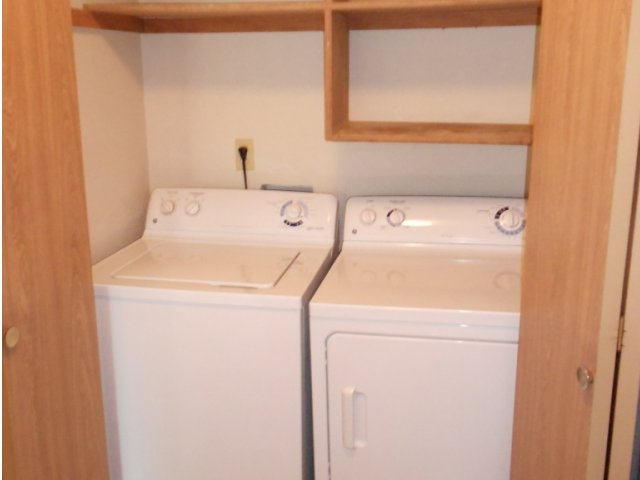 Image of Washer and Dryer in every home for Heron View Apartment Homes