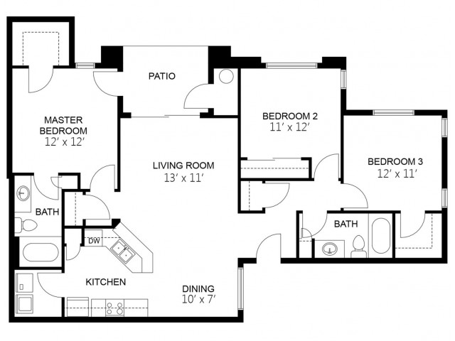 Current availability and pricing at dobson towne centre - 3 bedroom apartments chandler az ...