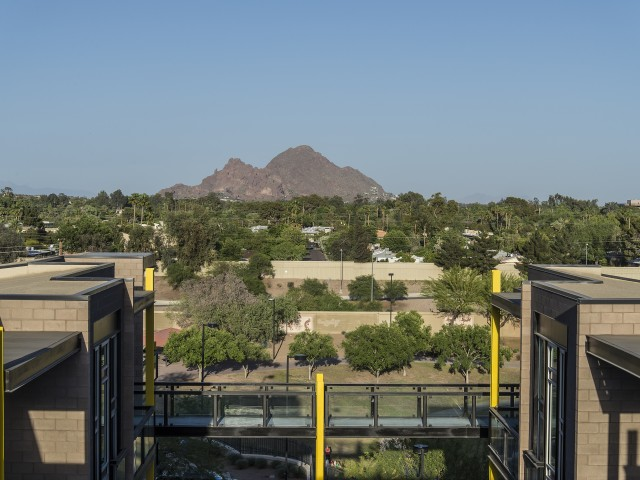 view of camelback mountain