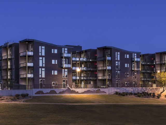 exterior of Trend at 51 Apartment Homes