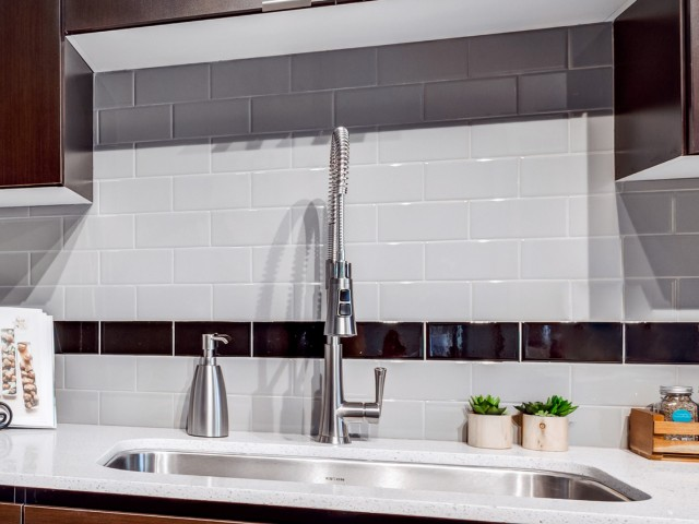 Image of Subway Tile Backsplash for Proxy 333 Apartment Homes