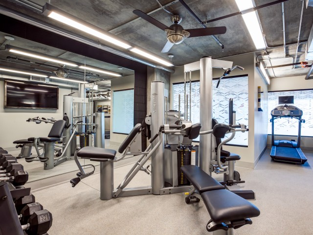 Image of 24 Hour Fitness Center for Proxy 333 Apartment Homes
