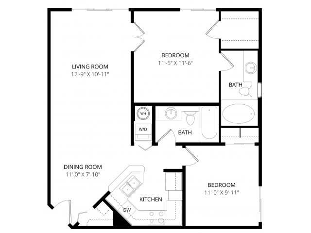 2 bedroom apartment