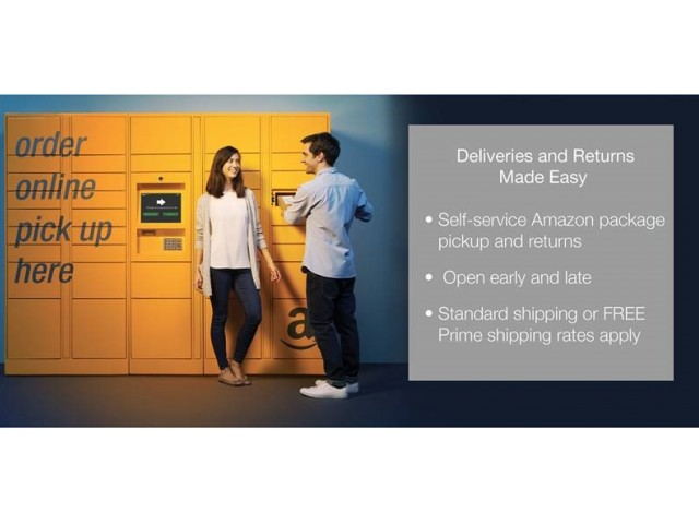 Image of Amazon Locker System for Leilani Apartment Homes