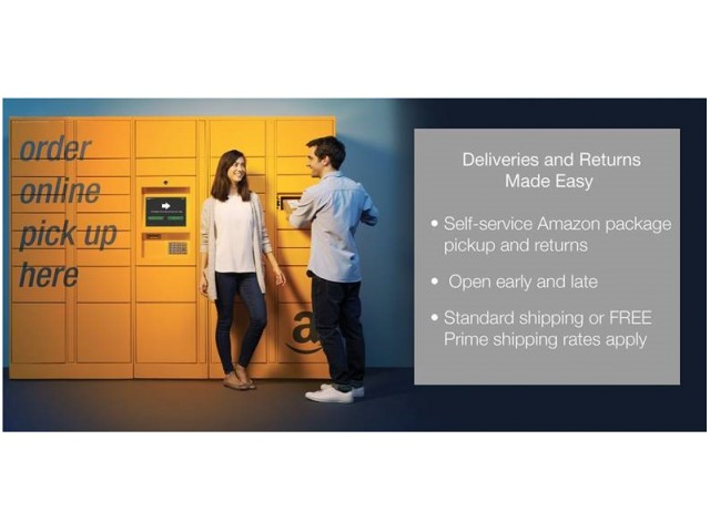 Image of Amazon Locker System for 7West Apartment Homes