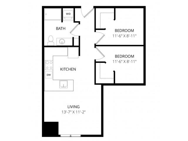 2 Bedroom O
