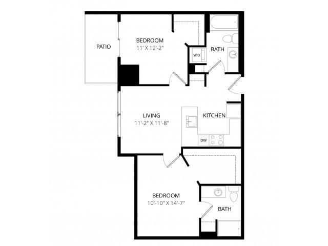 2 Bedroom Z