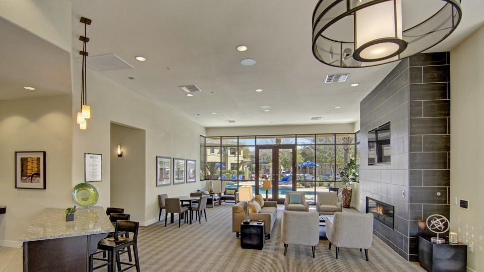 Image of Clubhouse including Flavia Coffee for Cobalt on 32nd Apartment Homes