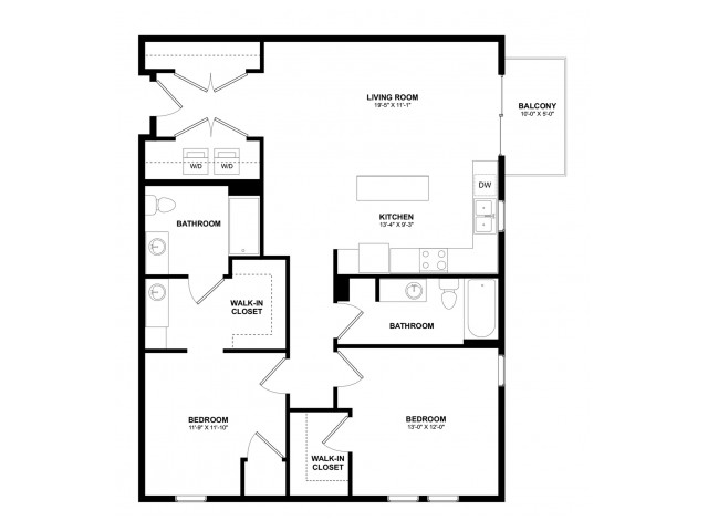 Covington 2 bedroom A