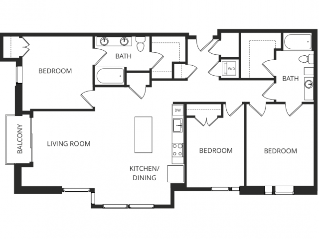 Studio 3 bed apartments metropolitan - 3 bedroom apartments denver metro area ...