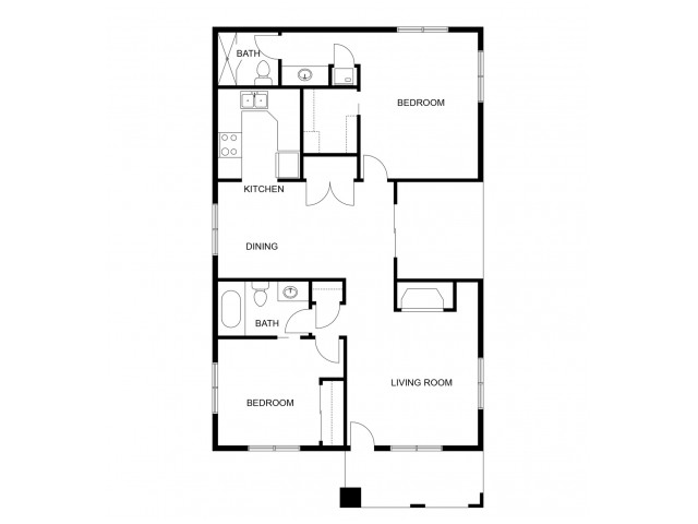 Madrid Remodeled Floor Plan