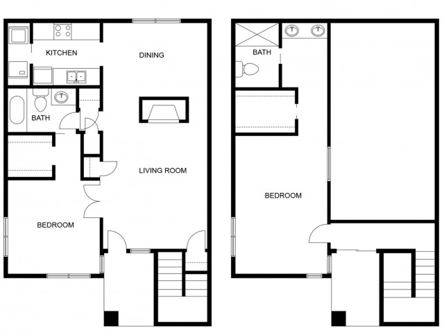 Valencia Remodeled Floor Plan