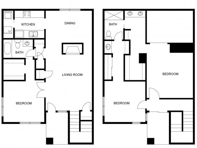 Marbella Remodeled Floor Plan