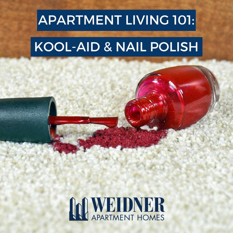 Kool Aid Nail Polish Stains