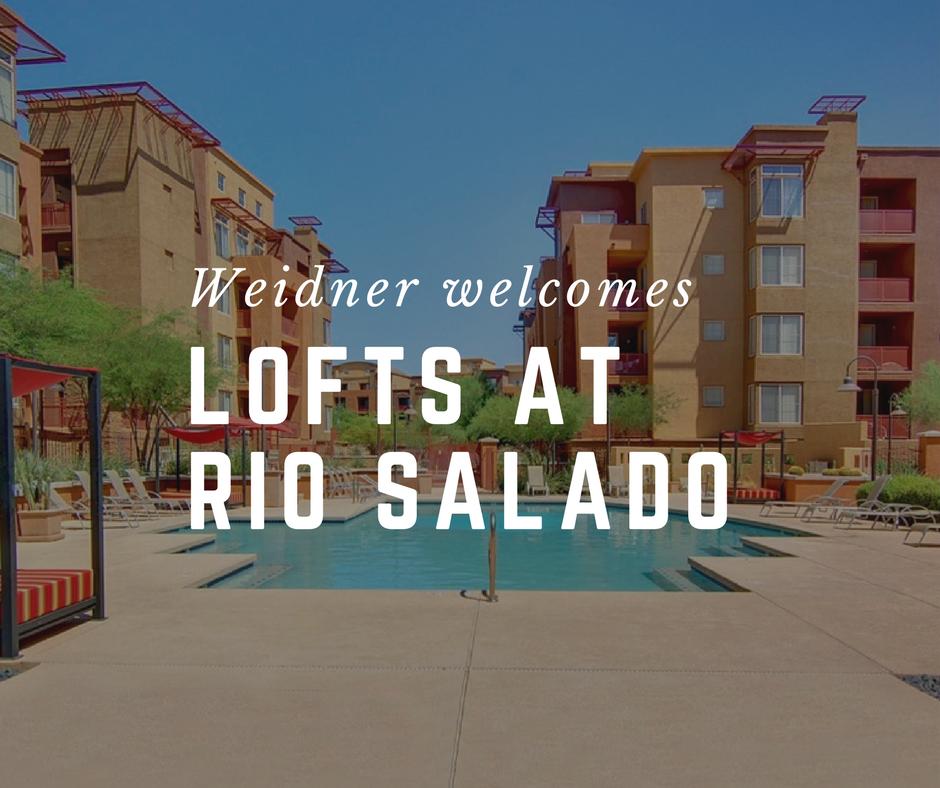 Weidner Welcomes The Lofts At Rio Salado In Tempe, AZ