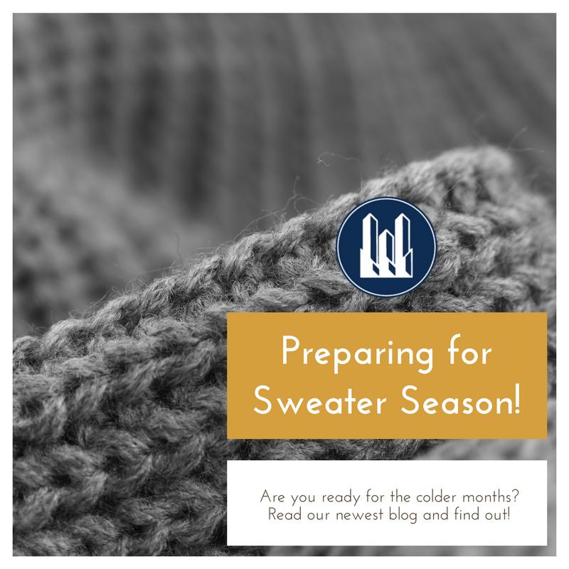 Preparing for Sweater Season!
