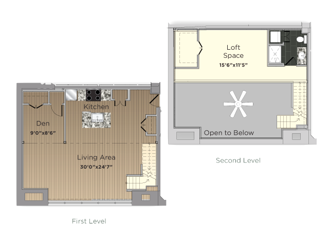 The Librarian Floor Plan