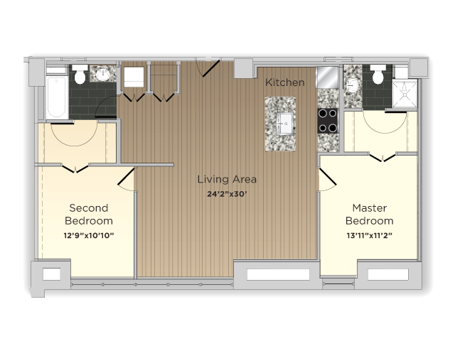 The Principal Floor Plan