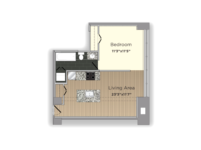 The Student Floor Plan