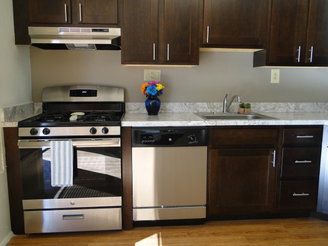 Image of Gas Range for Townhomes at Rivers Gate