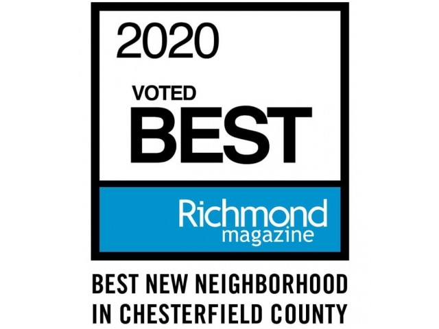 Magnolia Greens voted 2020 Best new neighborhood in Chesterfield County by Richmond Magazine
