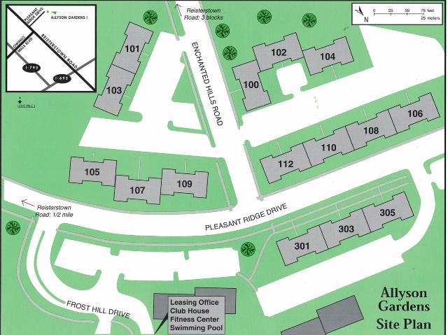 Site Map - ALG1