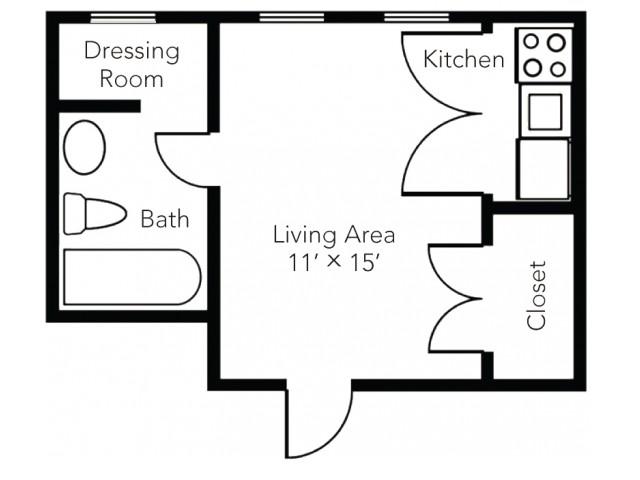 Efficiency Plus Floorplan