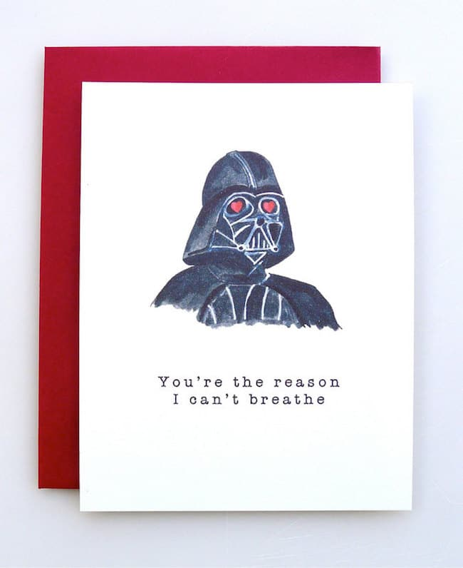 Diy valentine s cards may the inhaler be with you solutioingenieria Images