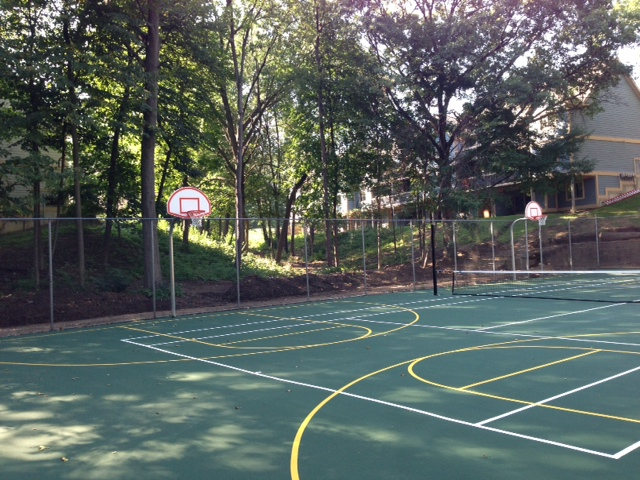 Image of Unicourt (Basketball, Volleyball, Tennis, Hockey) for Greenhill Apartments Kalamazoo