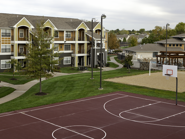 Image of Basketball Court for The Reserve on West 31st