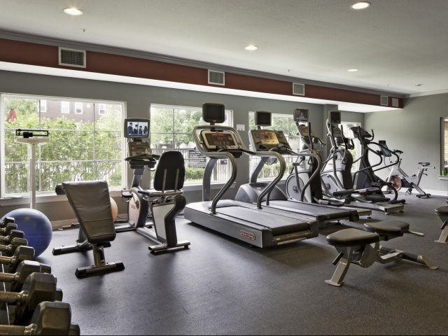 Image of 24-Hour Fitness Center for The Commons on Kinnear