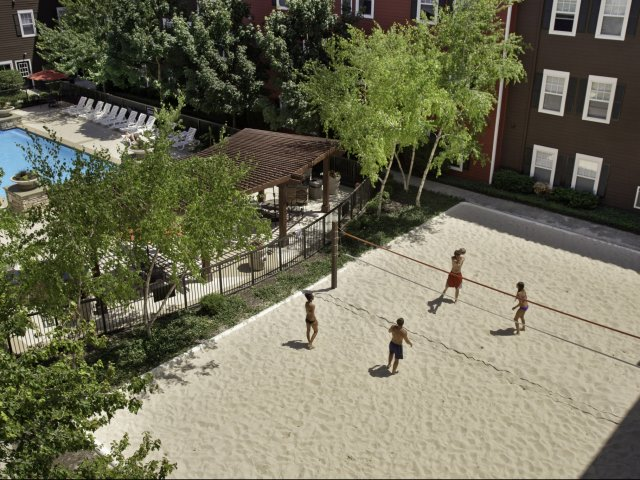 Image of Sand Volleyball Court for The Commons on Kinnear
